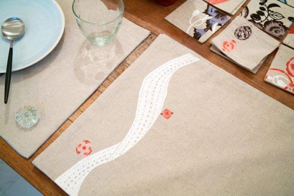 Place mat & coaster(ランチョンマット&コースター)